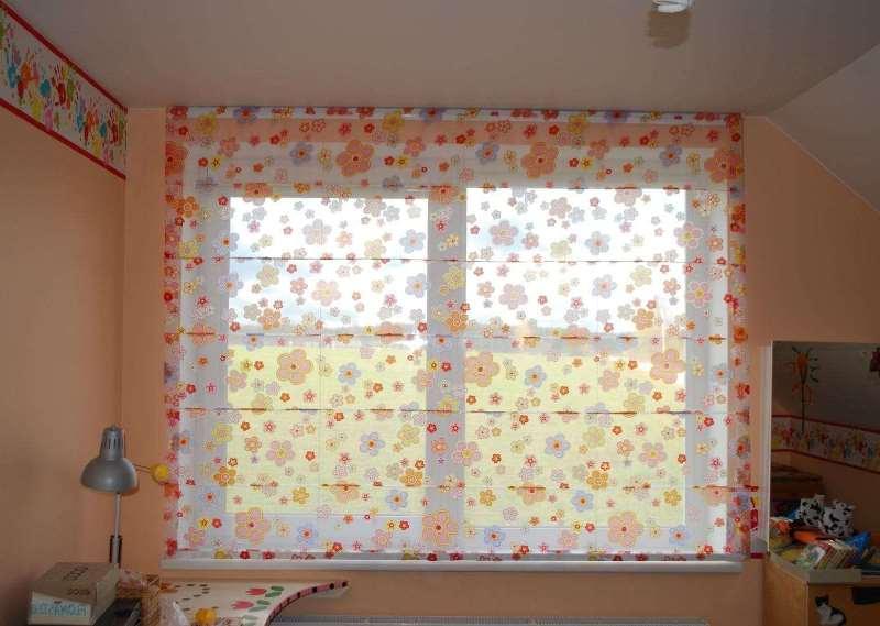 прозрачные шторы с рисунком
