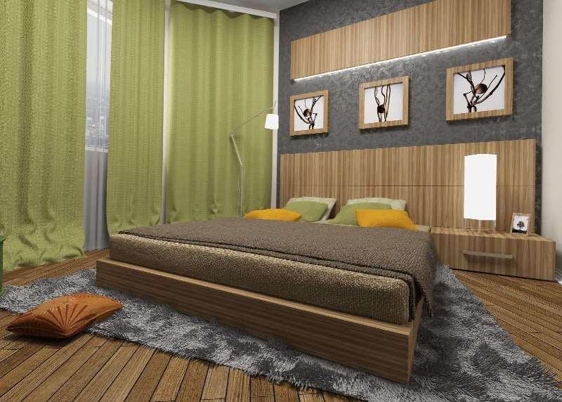 спальня в стиле неоклассицизм