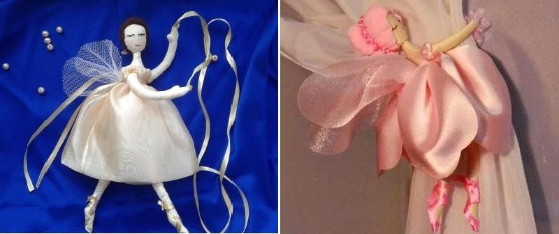 для девочки в виде балерин