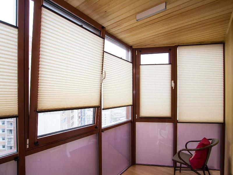 для огороженного балкона