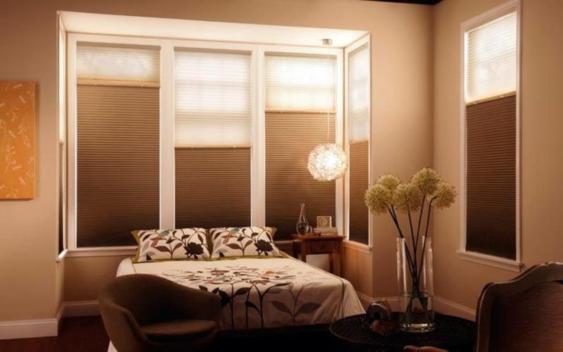 конструкция день-ночь для спальни