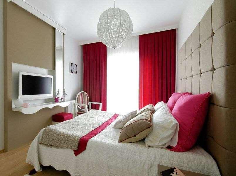 контрастные цвета для спальни не очень подходят