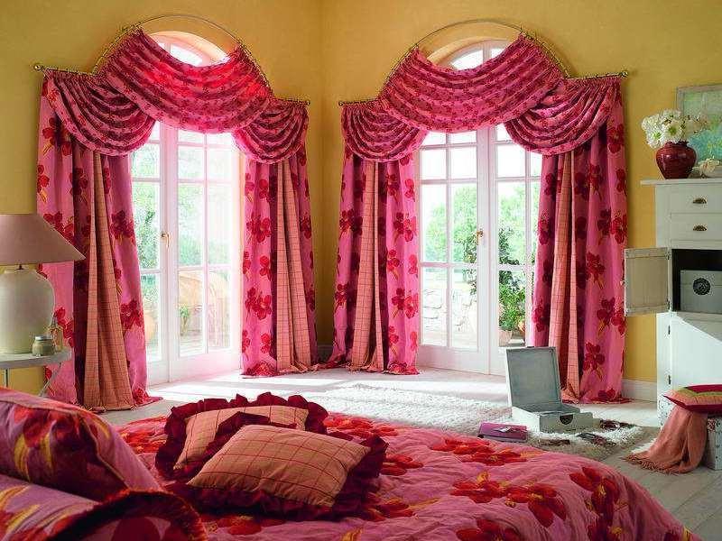 несколько оттенков не повредят убранству спальни
