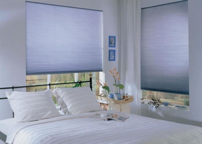 одноцветные спокойные тона - лучшее решение для спальни