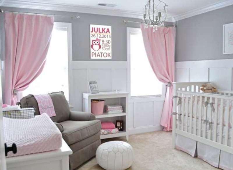 в комнате новорожденного