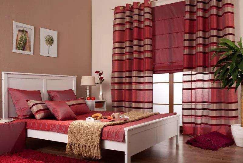 в спальне приглушенный розовый будет очень в тему