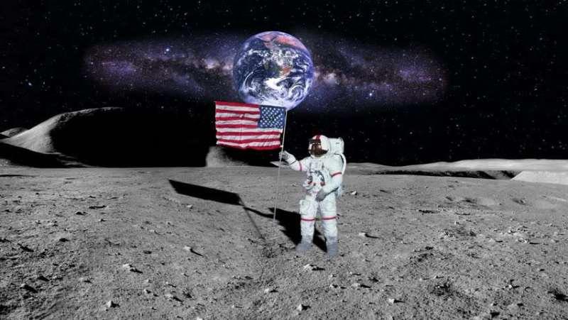 нейлон даже есть на Луне