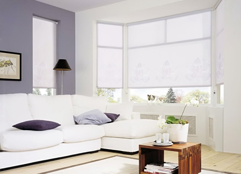чистота белого цвета не защитит от яркого света