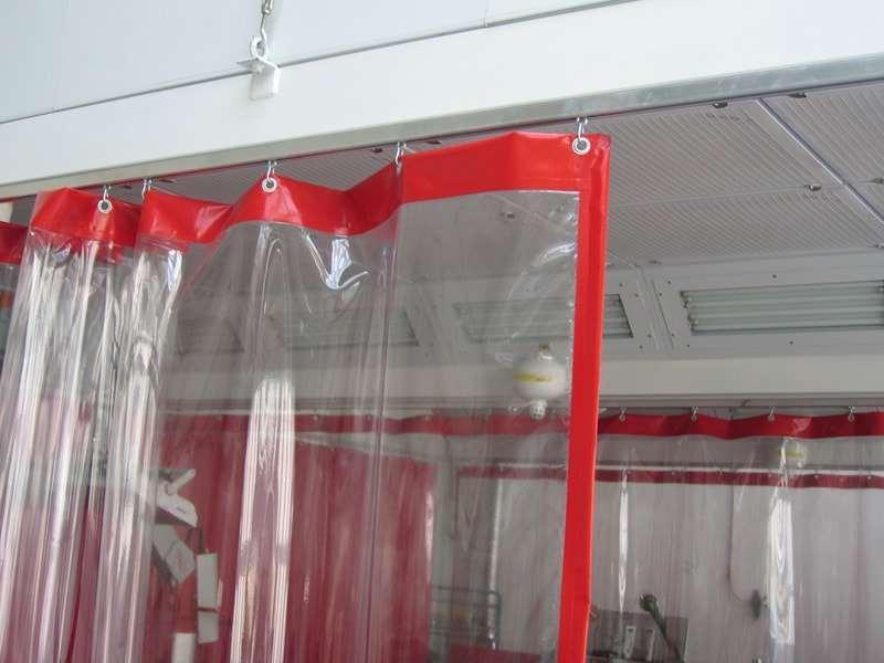 крепления для водонепроницаемых штор