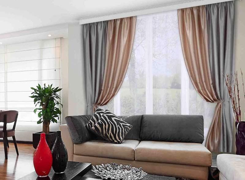 шторы из ткани шанзелизе