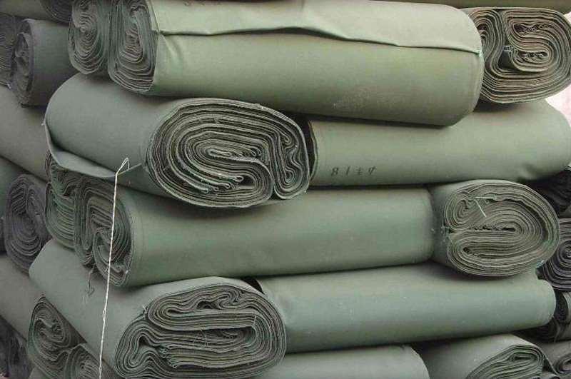 Брезентовая ткань в рулонах