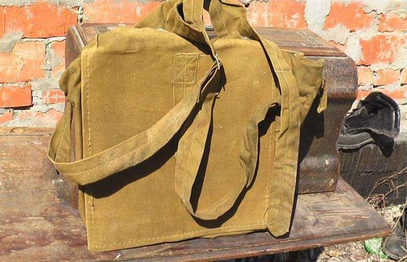 Санитарная армейская сумка времен Первой мировой войны