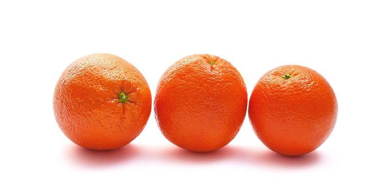 оранжевые апельсины