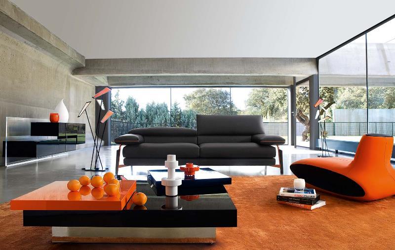 дизайн гостиной в авангардном стиле