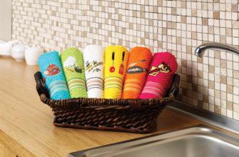 Из какой ткани шьют полотенца для кухни